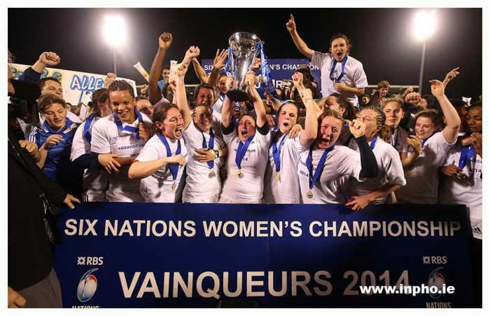 France Win the 2014 Six Nations Women's Championship Grand Slam
